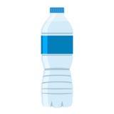 Bouteille d'icône de l'eau Vecteur plat de style illustration de vecteur