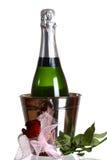 Bouteille de Champagne illustration stock