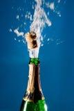 Bouteille de champagne Image libre de droits