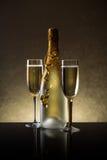 Bouteille de Champagne Image stock