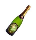 Bouteille de champagne 2017 Photographie stock