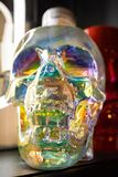 Bouteille de crâne images libres de droits