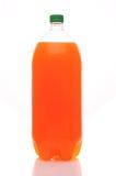 Bouteille de deux litres de bicarbonate de soude orange Photo stock