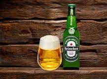Bouteille de Heineken Lager Beer image libre de droits