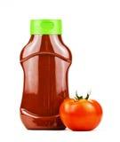Bouteille de ketchup   Image libre de droits