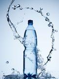 Bouteille de l'eau images libres de droits