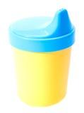 Bouteille de lait pour le bébé Image stock