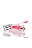 bouteille de lustre de lèvre Images stock