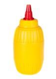 Bouteille de moutarde Photographie stock libre de droits