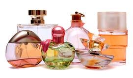 Bouteille de parfum Photos libres de droits