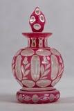 Bouteille de parfum antique - 1830 - 1850 Photographie stock libre de droits