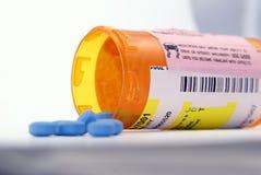 Bouteille de prescription Images libres de droits