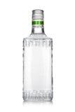 Bouteille de tequila argenté Photographie stock libre de droits