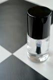 Bouteille de vernis à ongles Photos stock