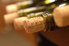 Bouteille de vin Image libre de droits