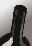 Bouteille de vin illustration de vecteur