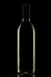 Bouteille de vin. Image stock