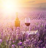 Bouteille de vin Image stock