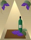 Bouteille de vin Images stock