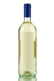 Bouteille de vin blanc Images libres de droits