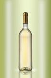 Bouteille de vin blanc Image libre de droits