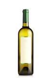 Bouteille de vin blanc Photos stock
