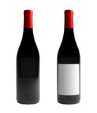 Bouteille de vin de Bourgogne Photos libres de droits