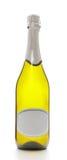 Bouteille de vin mousseux Photos stock