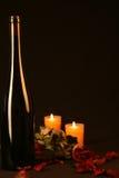 Bouteille de vin rouge Images libres de droits