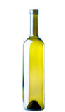 Bouteille de vin vide Images stock