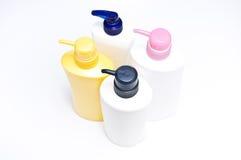 Bouteille en plastique de pompe Photos stock
