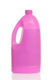 Bouteille en plastique rose image stock