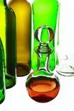 Bouteille en verre Image stock