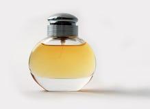 Bouteille en verre de parfum Photos stock