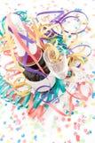 Bouteille et cannelures de Champagne Photographie stock libre de droits