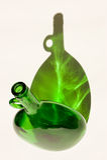 Bouteille et ombre vertes photos stock