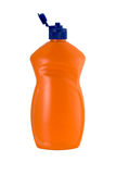 Bouteille orange Photographie stock libre de droits