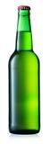 Bouteille verte de bière images libres de droits