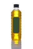 Bouteille vierge supplémentaire d'huile d'olive Photographie stock libre de droits