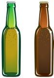 Bouteilles à bière illustration libre de droits