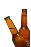 Bouteilles à bière photos libres de droits