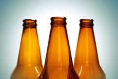Bouteilles à bière Image stock