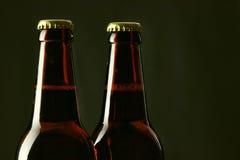 Bouteilles à bière photographie stock