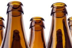 Bouteilles à bière Images stock