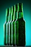 Bouteilles à bière Photo libre de droits