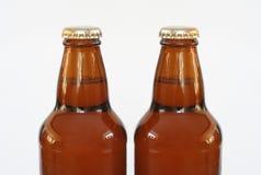 Bouteilles à bière image libre de droits