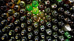 bouteilles photo stock