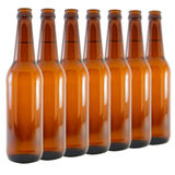 bouteilles à bière Photos stock