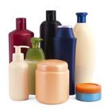 Bouteilles cosmétiques Photos stock