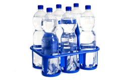Bouteilles d'eau Photos stock